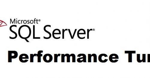 MS SQL Server PT